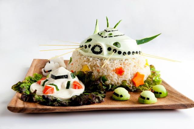 激動戰士 第三十五話:恐怖!機動畢克薩姆豆腐!!!