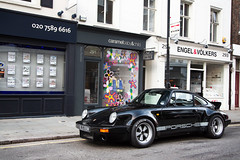 Style. (Alex Penfold) Tags: black london cars alex car sport duck tail 911 super porsche 1989 supercar carrera supercars supersport penfold ducktail