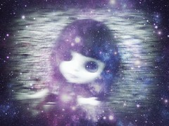 In the Dreaming (Bebopgirl1969) Tags: blue white black purple pale dreaming dreamy blythe simplythumptythump