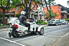 Can-Am Spyder Driveby - Ottawa 06 13 (Mikey G Ottawa) Tags: street city ontario canada tricycle ottawa driveby motorbike motorcycle trike tribike mikeygottawa canamspyder