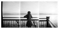 "Week 3/52: ""Lookout Point"" (Andrew Speight // speightphoto.com) Tags: lake 3 david mountains film water look burlington out point photo model triptych balcony grain lookout champlain week weeks 52 hilliard lookoutpoint speight 52weeks davidhilliard speightphotocom"