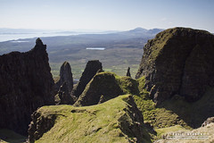 Spires (DMeadows) Tags: skye rock landscape island islands scotland countryside highlands rocky ridge highland remote isle trotternish quiraing davidmeadows dmeadows davidameadows dameadows