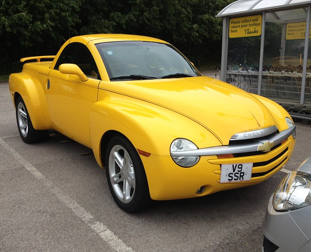 chevrolet convertible pickup ssr