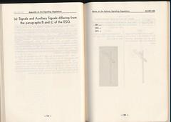 "German Railway Signals - Page 75 (Mark Vogel) Tags: railroad train eisenbahn railway db german signal signaux chemindefer signale rulebook ""german bahn"" ""deutsche eisenbahnsignal railways"" operatingrules signalchart signaldiagram signalaspects signalbuch"