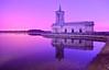 2am (explore) (Kriegaffe 9) Tags: sky reflection church water stone night surreal chapel explore kerpow explored