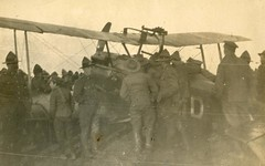 United States Troops (archivesplus) Tags: wwi planes worldwarone ww1 greatwar firstworldwar pilot worldwar aeroplanes worldwar1 airships airmen thegreatwar 19141918 royalflyingcorps warphotography