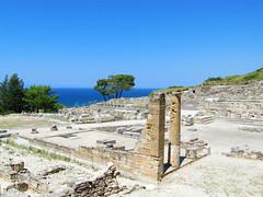 Kamiros (pefkosmad) Tags: vacation holiday history archaeology greece homer greekislands rhodes dodecanese kamiros kameiros rhodes2013