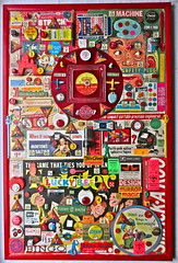 "Christian Montone 2013 ""Safety Design Game"" RIGHT PANEL (Christian Montone) Tags: records art collage kids illustration vintage ads toys artwork graphics assemblage buttons letters vinyl kitsch games ephemera popart 1940s numbers 1950s montage lp planes font santaclaus 1960s 1970s twister 8mm montone singles dials typeface departmentstores midcentury pinback twoguys vintagechristmas vintagetoys mortonsalt korvettes vintagetype wtgrant smackaroo christianmontone nomalights"