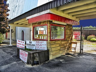 Reynold's Drive-in ~ Ticket Booth ~  Transfer, PA ~  USA