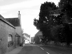Scotlandwell Village (B4bees .(2m views)) Tags: old bw monochrome scotland countryside scenery village scotlandwell kinrossshire visiteastscotland