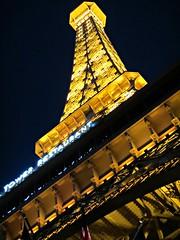 Half-size Eiffel Tower