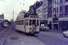 Once upon a time - Belgium - Bruxelles / Brussel / Brussels (railasia) Tags: belgium brussels nmvbsncv groupbrusselsmeter gaugeroute almotorcar trailerinfra1000 mm1435 mm mivbstib motorcar pcc sixties