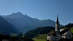Eglise savognin (Meinrad Prisset) Tags: schweiz switzerland nikon suisse paysages savognin swizzera nikond800 cantondesgrisons