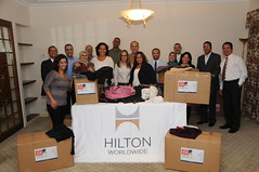 Cairo, Egypt (HiltonNewsroom) Tags: corporate community day hilton grand week service hotels hampton volunteer conrad vacations embassysuites volunteerism hiltonhhonors doubletreebyhilton hiltonworldwide hiltonhotelsandresorts travelwithpurpose