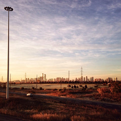 Mississauga (Richard Pilon) Tags: november autumn sky urban ontario canada fall sunrise mississauga iphone iphoneography hipstamatic
