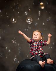 Bubble Wonderland (bugeyed_G) Tags: family portrait baby wonder toddler child joy portraiture bubble elinchrom strobist octabox paulcbuff rotalux thepinnaclehof kanchenjungachallengewinner einstein640 bugeyedg tphofweek231