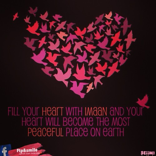 #heart #peace #imaan #islam #love