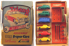 TRI-MinixSet-multi+ (adrianz toyz) Tags: ford car austin toy model plastic zephyr armstrong sunbeam rapier minibus triang minikit sidley