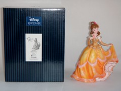 Belle Couture de Force Figurine by Enesco - First Look - Deboxed Next to Box - Full Front View (drj1828) Tags: disneyland belle anaheim figurine purchase beautyandthebeast firstlook 2014 enesco couturedeforce