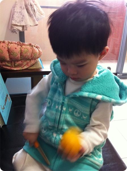 Fleece印花連帽背心(湖綠)-童