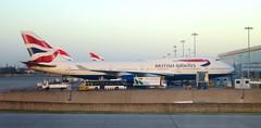 London Heathrow Airport (LHR) (LAXFlyer) Tags: uk london airport heathrow t5 british ba boeing airways britishairways boeing747 747 terminal5 londonheathrow