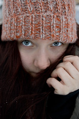 """26 / 365 """"cold"""" (Vanessa vW) Tags: winter portrait snow cold project 365days"""