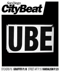 SanDiegoCityBeat (ube1kenobi) Tags: streetart art graffiti stickers urbanart stickertag ube sanfranciscograffiti slaptag newyorkgraffiti losangelesgraffiti sandiegograffiti customsticker ubeone ubewan ubewankenobi ubesticker ubeclothing