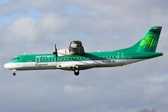 EI-FAW Aer Lingus Regional AT76 at Southend EGMC (AeroPics) Tags: dub sen turboprop dublinairport atr atr72 aerarann southendairport eidw atr72212a egmc londonsouthendairport atr72600 aerlingusregional rea6en ei3306 eifaw