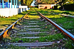 Railway Track (kamalalsanea) Tags: city track railway entertainment kuwait  q8