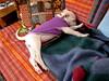 Heidi (pumpkinhaus) Tags: dog puppy mutt husky huskador pitsky