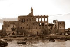 Abbazia di San Vito (antoniosciusciu77) Tags: san mare barche puglia vito abbazia polignano porticciolo