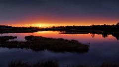 Zonsondergang boven Hijkerveld - Arjan Pat (RTV Drenthe - foto's) Tags: winter drenthe weer