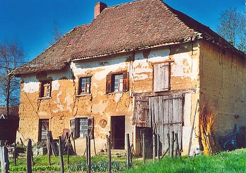 APS, habitation en pisé © J.P Blazin, Fondation Facim