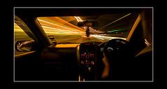 Silent Running (RonnieLMills) Tags: blur car lights driving an hour miles streaks thousand trolled pinnaclephotography infinitexposure