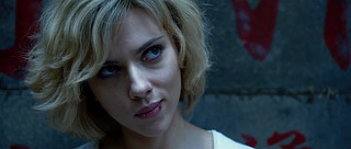 """Scarlett Johansson Powers Up in """"Lucy&quo..."""