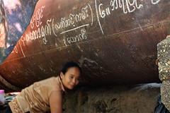 Children of the Yangon water pipe 33 (I.M.W.) Tags: myanmar burma yangon rangoon waterpipe water pipe rust iron steel woman cooking cook pan kitchen grafitti waterpipeline pipeline watermain canon550d canon dslr 28mm canonef28mm118 asia people