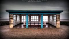 Seafront Shelter (AreKev) Tags: seafront seaside shelter promenade marineparade westonsupermare bristolchannel somerset northsomerset england uk hdr photomatixpro sonyxperiaz3 sony xperia z3 mobilephone mobile phone photobook tonemapped