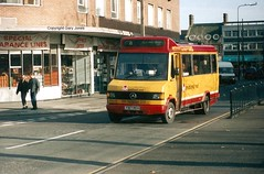 187 F187 REH Crewe Bus Station (onthebeast) Tags: mercedes north crewe 187 reh midlands stafford stevensons arriva f187