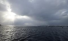 The Oga Peninsula (Jussi Salmiakkinen (JUNJI SUDA)) Tags: winter sea seascape japan clouds landscape lights shore      akita   japani oga   ogapeninsula   northanjapan