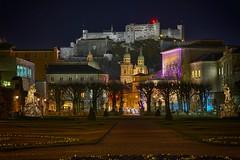 SalzburgMirabell (Hilzensauer Foto) Tags: city light salzburg night lights cityscape cities