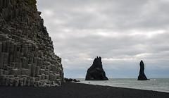 Basalt Beach (Waldemar*) Tags: seascape beach nature rock landscape blacksand coast iceland nikon scenery columns scenic vik formation coastline basalt reynishverfi afs24120mmf4gedvr d800e 64north