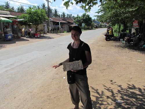 Sur la route, Cambodge