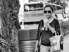 Street Photography - FRESH (-Faisal Aljunied - !!) Tags: street portrait blackandwhite bw monochrome beautiful lady asian photography mono women singapore asia southeastasia flickr candid streetphotography streetportrait streetscene olympus monotone fresh spectacles omd streetphotographer m43 mft asianbeauty streetsnap aljunied flickriver micro43 microfourthirds flickrblackandwhite olympusstreetphotography olympusomdem5 omdem5 lumix35100mm panasoniclumixgxvario35100mmf28 faisalaljunied