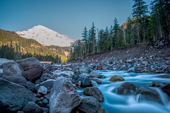 Nisqually River, Mount Rainier National Park (Thomas Franta) Tags: nature water river landscape washington unitedstates mountrainier mountrainiernationalpark ashford nisquallyriver 70d eos70d ef1635f4isusm