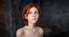 Anastacia (www.gustarev.com   Maksim Gustarev) Tags: art girl canon f14 sigma redhead 6d sigma35mm canon6d