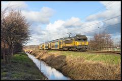01-02-2015, Bloemendaal, NSR 1734 + 7344 (Koen langs de baan) Tags: asd nsr 1743 ddar bll 7344 utg 4844