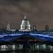 https://www.twin-loc.fr  London Millenium Bridge Tate Modern Museum Saint Paul's Cathedral Tamise River Night Explore Image Picture Long pose
