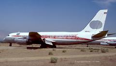 N814AJ - 1960 build Convair 880 22-1, scrapped at Mojave, CA in 2000 (egcc) Tags: mojave 221 32 twa 880 convair convair880 mhv kmhv transworldairlines cv880 220032 n814aj n825tw americanjetindustries
