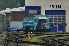 P1870640 (Lumixfan68) Tags: eisenbahn nob bombardier traxx 245 loks baureihe nordostseebahn dieselloks nahsh mehrmotorlok