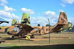 DSC_0907 (LoxPix2) Tags: clouds vintage landscape airport aircraft australia queensland nomad caribou oakey loxpix australianarmyflyingmuseum